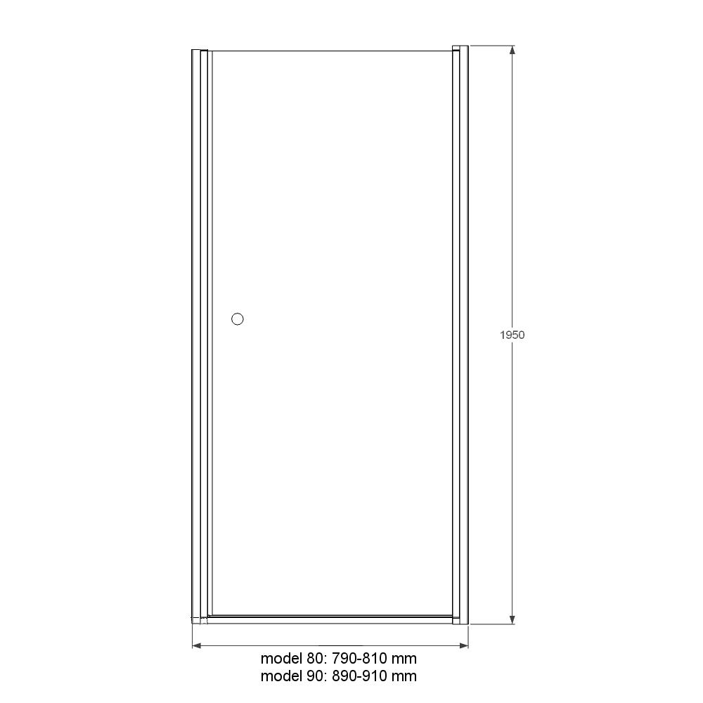 Drzwi Prysznicowe Jednoskrzydlowe Duso Znaczy Prysznic